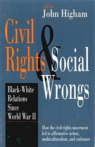 Civil Rights & Social Wrongs - Ppr 9780271019321