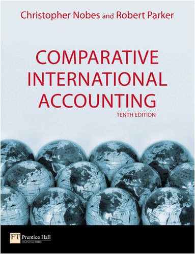 Comparative International Accounting 9780273714767