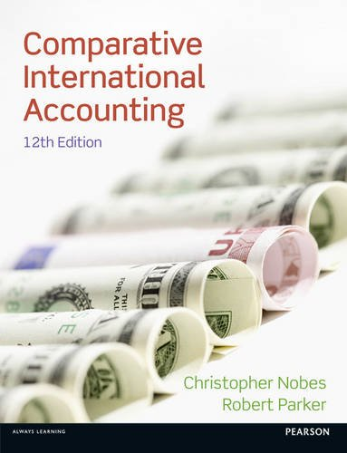 Comparative International Accounting 9780273763796