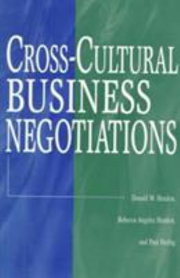 Cross-Cultural Business Negotiations 9780275968038