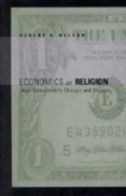 Economics as Religion - Ppr. 9780271022840