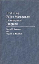 Evaluating Police Management Development Programs