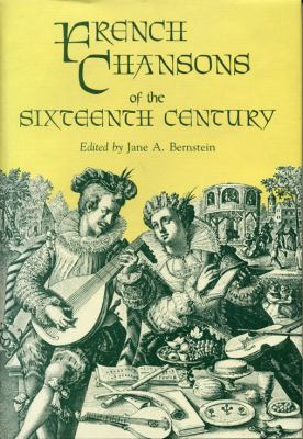 French Chansons of the Sixteenth Century 9780271003979