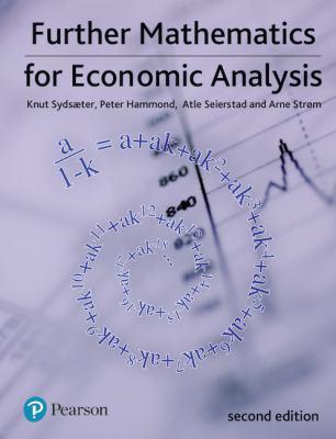 Further Mathematics for Economic Analysis 9780273713289