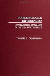 Irreconcilable Differences?: Intellectual Stalemate in the Gay Rights Debate 819558