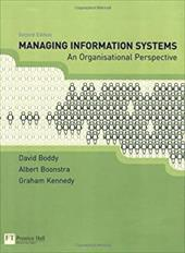 Managing Information Systems: An Organisational Perspective 812100