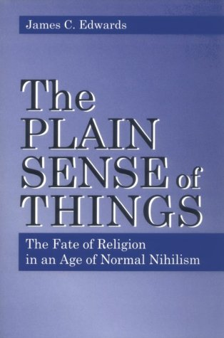 Plain Sense of Things - Ppr. 9780271016788