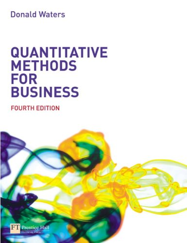 quantitative techniques in business Introduction to statistics in the business world, and in fact, in practically every aspect of daily living, quantitative techniques are used to assist in decision.