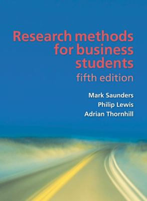 Research Methods for Business Students 9780273716860