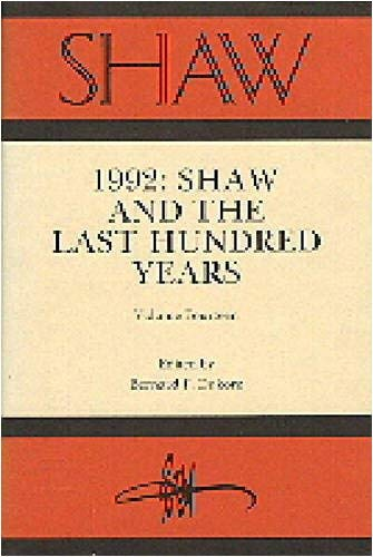 Shaw-VLM. 14, Last Hundred Years 9780271013244