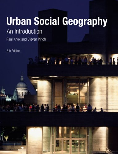 Urban Social Geography: An Introduction 9780273717638