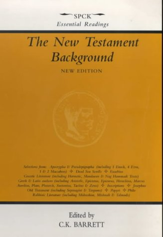 New Testament Background, the - Selected Documents 9780281042944