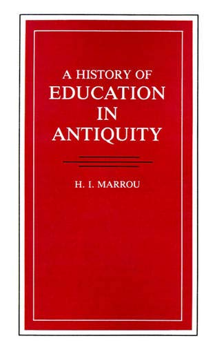 A History of Education in Antiquity 9780299088149