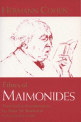 Ethics of Maimonides 9780299177645