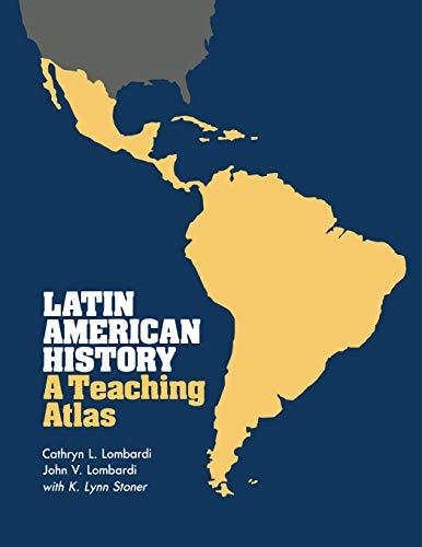 Latin American History: A Teaching Atlas 9780299097141