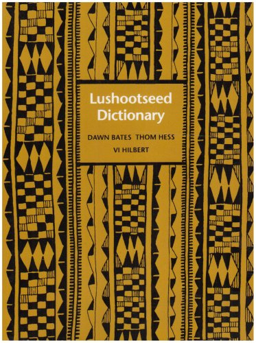 Lushootseed Dictionary 9780295973234