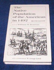 Native Population Americas 1492 9780299134341