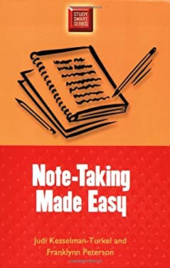 Note-Taking Made Easy 9780299191542