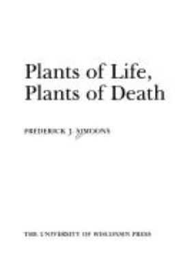 Plants of Life, Plants of Death 9780299159009