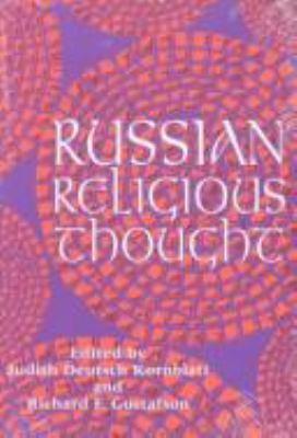 Russian Religious Thought Russian Religious Thought Russian Religious Thought 9780299151300