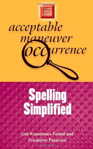 Spelling Simplified 9780299191740