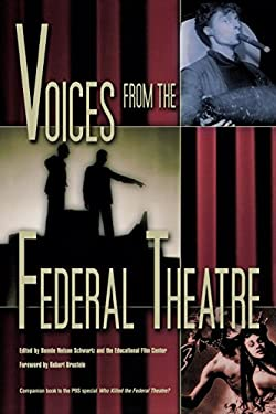 Voices from the Federal Theatre 9780299183240