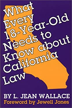 What Every 18-Year-Old Needs to Know about California Law 9780292790858