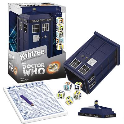 Yahtzee: Dr Who Edition: Yahtzee: Dr Who Edition