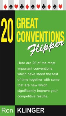 20 Great Conventions Flipper 9780304363216