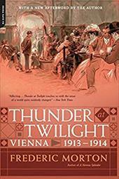 ISBN 9780306823268 product image for Thunder at Twilight: Vienna 1913/1914   upcitemdb.com