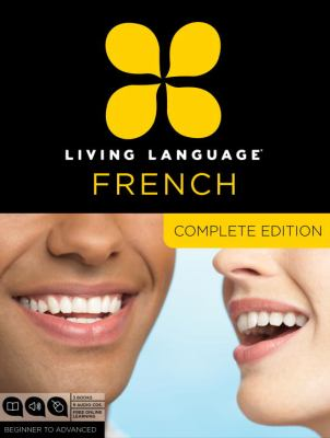 Living Language French, Complete Edition, Beginner to Advanced [With 3 Books] 9780307478436