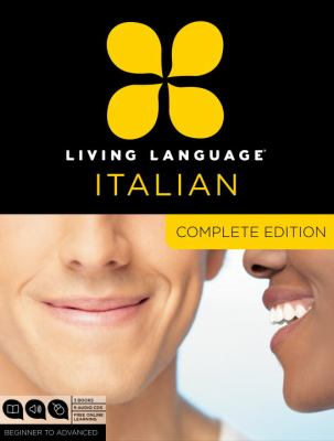 Living Language Italian, Complete: Beginner to Advanced Course [With Book(s)] 9780307478573