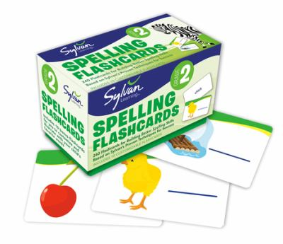 Second Grade Spelling Flashcards 9780307479396