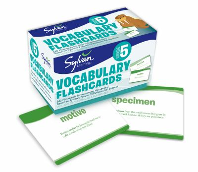 Fifth Grade Vocabulary Flashcards 9780307479426