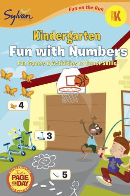 Kindergarten Fun with Numbers (Sylvan Fun on the Run Series) 9780307479464