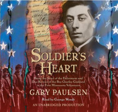 a book recommendation for gary paulsens soldiers heart Soldier's heart summary & study guide includes detailed chapter summaries and analysis,  gary paulsen this study guide  but the essential elements of the book .