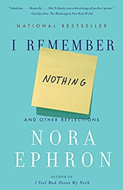 I Remember Nothing: And Other Reflections 9780307742803