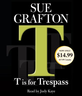 T Is for Trespass 9780307750877