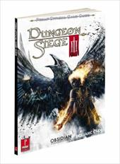 Prima Publishing Dungeon Siege 3: Prima Game Guide XB3, PS3, PC Paperback offers