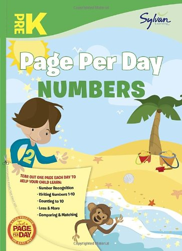 Pre-K Page Per Day: Numbers 9780307944566