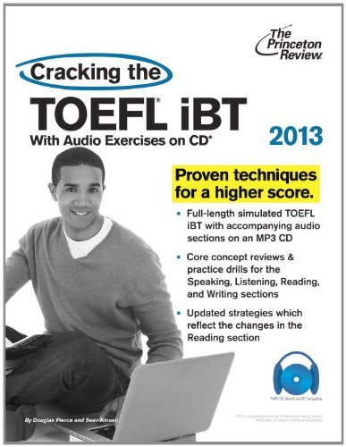 Cracking the TOEFL iBT [With CDROM] 9780307944689