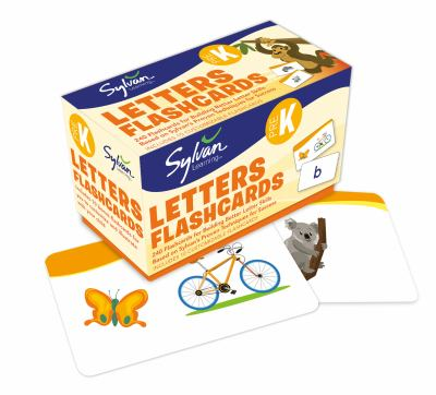 Pre-K Letters Flashcards 9780307945440