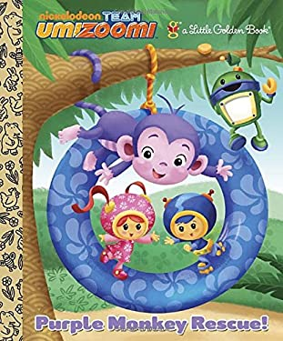 Purple Monkey Rescue! (Team Umizoomi) 9780307975898