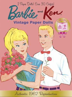 Barbie and Ken Vintage Paper Dolls (Barbie) 9780307980915