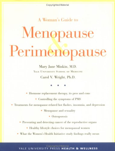 A Woman's Guide to Menopause and Perimenopause 9780300104356