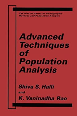 Advanced Techniques of Population Analysis 9780306439971