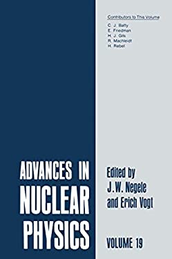 Advances in Nuclear Physics: Volume 19 9780306430466
