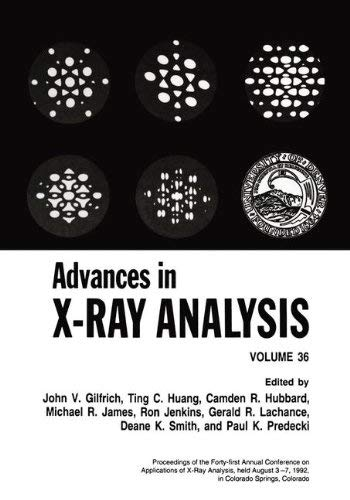 Advances in X-Ray Analysis 9780306445712