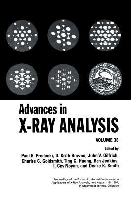 Advances in X-Ray Analysis 9780306450457