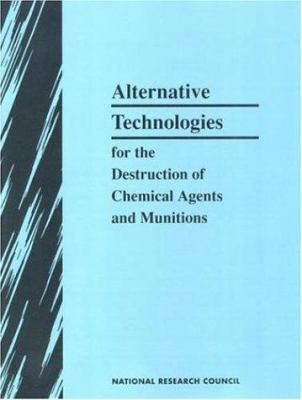 Alternative Chem Demilitar Tech 9780309049467